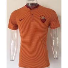 17-18 Rome Orange Man's Polo (17-18 罗马橙色Polo)