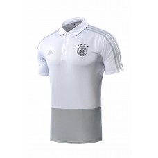2018 World Cup Germany White Mans Polo (2018世界杯德国白色Polo套装)