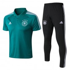 2018 World Cup Germany Green Mans Polo Suit (2018世界杯德国绿色Polo套装)