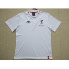 18-19 Liverpool White Mans Polo (18-19利物浦白色Polo)