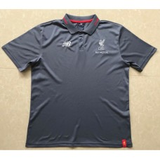 18-19 Liverpool Gray Mans Polo (18-19利物浦深灰色Polo)