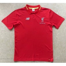 2018 World Cup Liverpool Red Mans Polo (2018世界杯利物浦红色Polo)