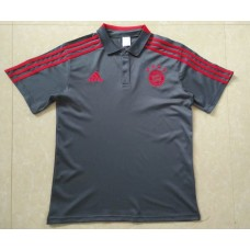 18-19 Bayern Grey Mans Polo (18-19拜仁灰色Polo)