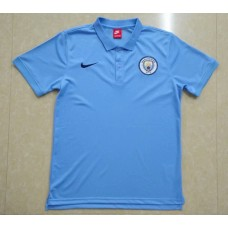 18-19 Manchester City Blue Mans Polo (18-19曼城蓝色Polo)