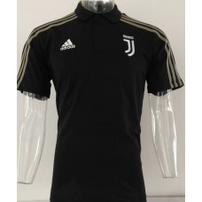 18-19 Juventus Black Mans Polo (18-19尤文黑色Polo)