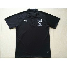 18-19 Arsenal Black Mans Polo (18-19阿森纳黑色Polo)