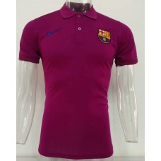 18-19 Barcelona Red Mans Polo (18-19巴塞红色Polo)