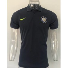 17-18 Inter Milan Black Man's Polo (17-18 国米黑色Polo)