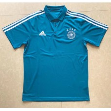 2018 World Cup Germany Blue Man's Polo (2018世界杯德国蓝色Polo)