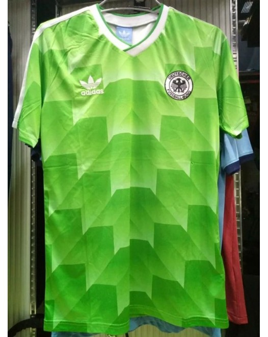 1988 Germany Away Retro Jersey(1988德国客场复古)