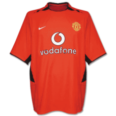2002 Manchester United Home Retro Jersey 02曼联主场复古