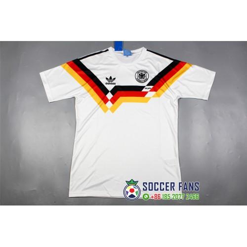 1990 Germany Home White aeefd48dd
