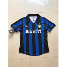 1998 Inter Milan Blue Retro Short Jersey (1998 国米主场蓝色复古短袖)