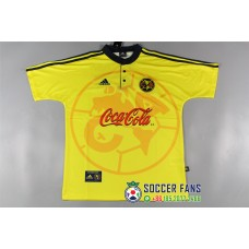Club America Yellow jersey Retro Jersey (美洲全黄色泰版复古短袖)