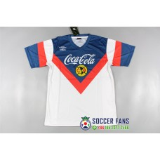 Club America Blue jersey Retro Jersey (美洲蓝色泰版复古短袖)