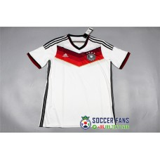 2014 Germany Home White Fans Verison Retro Jersey (2014德国主场白色球迷复古)