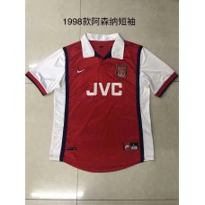 1998 Arsenal Red Retro Short sleeve Jersey (1998年阿森纳红色复古短袖)