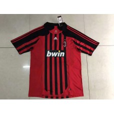 2008 AC Milan Red Retro Short Jersey (2008年AC米兰红色复古短袖)