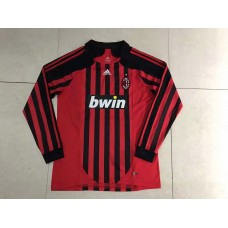 2008 AC Milan Red Retro Long Jersey (2008年AC米兰红色复古长袖)