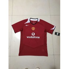 2005 Manchester United Red Retro Short Jersey (2005 曼联红色复古短袖)
