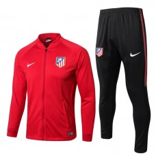 17-18 Atletico Madrid Red Tracksuit (17-18马竞红色套装)