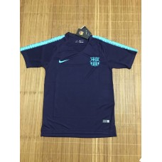 18-19 Barcelona Blue Training T-shirt (18-19 巴塞蓝色训练T恤)