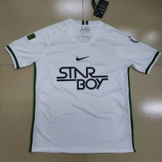 18-19 Nigeria White Training T-shirt (18-19 尼日利亚白色训练T恤)