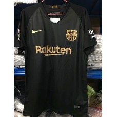 18-19 Barcelona Black Training T-shirt (18-19 巴塞黑色训练T恤)
