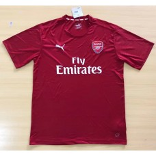17-18 Arsenal Red Short-sleeved T-shirt (17-18阿森纳红色短袖T桖)