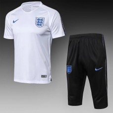2018 World Cup England White Short-sleeved Training suit (2018世界杯英格兰白色短袖训练服)