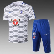 17-18 Chelsea Short-Sleeved Training Suit (17-18切尔西短袖训练服)