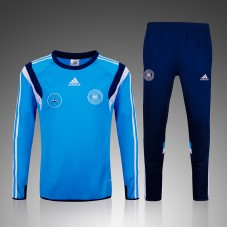Germany Blue and Black Training suit