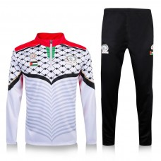16-17 Palestine White Training Suit