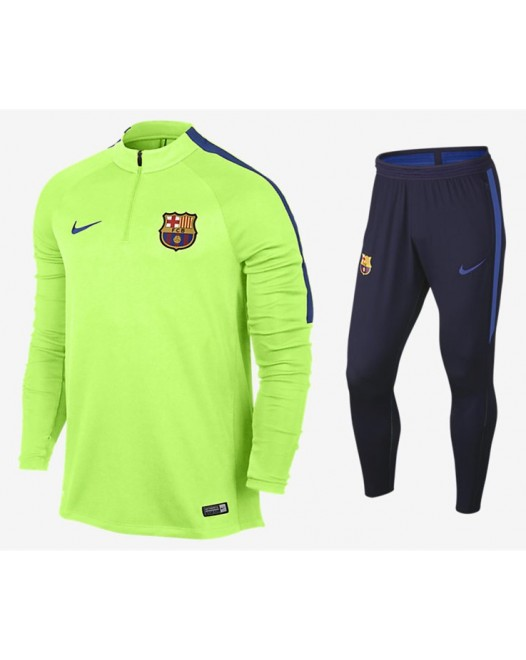 2017 Barcelona Ghost Green and Game Royal training suit