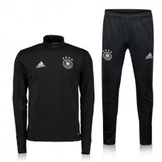 17-18 Germany Training Suit Black Color
