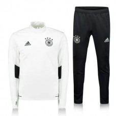 17-18 Germany Training Suit White Color