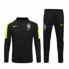 16-17 Brazil Black Training Suit