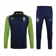 16-17 Brazil Royal Blue Training Suit
