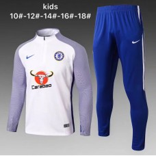 17-18 Chelsea round neck kid training suit (17-18切尔西童装训练服)