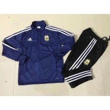 2018 World Cup Argentina Blue kid training suit (2018世界杯阿根廷蓝色童装训练服)