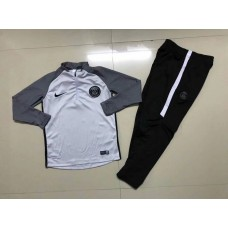 17-18 Paris Saint Germain kid training suit (17-18巴黎童装训练服)