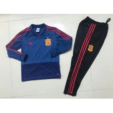 2018 World Cup Spain kid training suit (2018世界杯西班牙童装训练服)