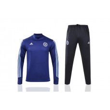 17-18 New York City Blue Training suit (17-18 纽约城宝蓝色高领款)