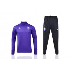 17-18 Orlando City Blue Training suit  (17-18 奥兰多城紫色高领)