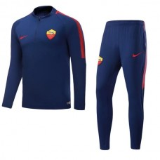 17-18 Rome Blue Training suit (17-18 罗马蓝色训练服)