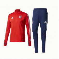 17-18 Bayern high-necked Red Training suit (17-18 拜仁高领红色训练服)
