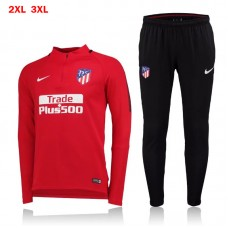 17-18 Atletico Madrid Red Training suit  (17-18 马竞红色训练服)