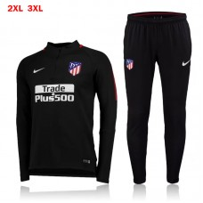 17-18 Atletico Madrid Black Training suit  (17-18 马竞黑色训练服)