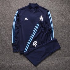 17-18 Marseille Blue Training suit  (17-18 马赛蓝色训练服)