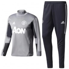 17-18 Manchester United Gray Training suit (17-18 曼联灰色训练服)